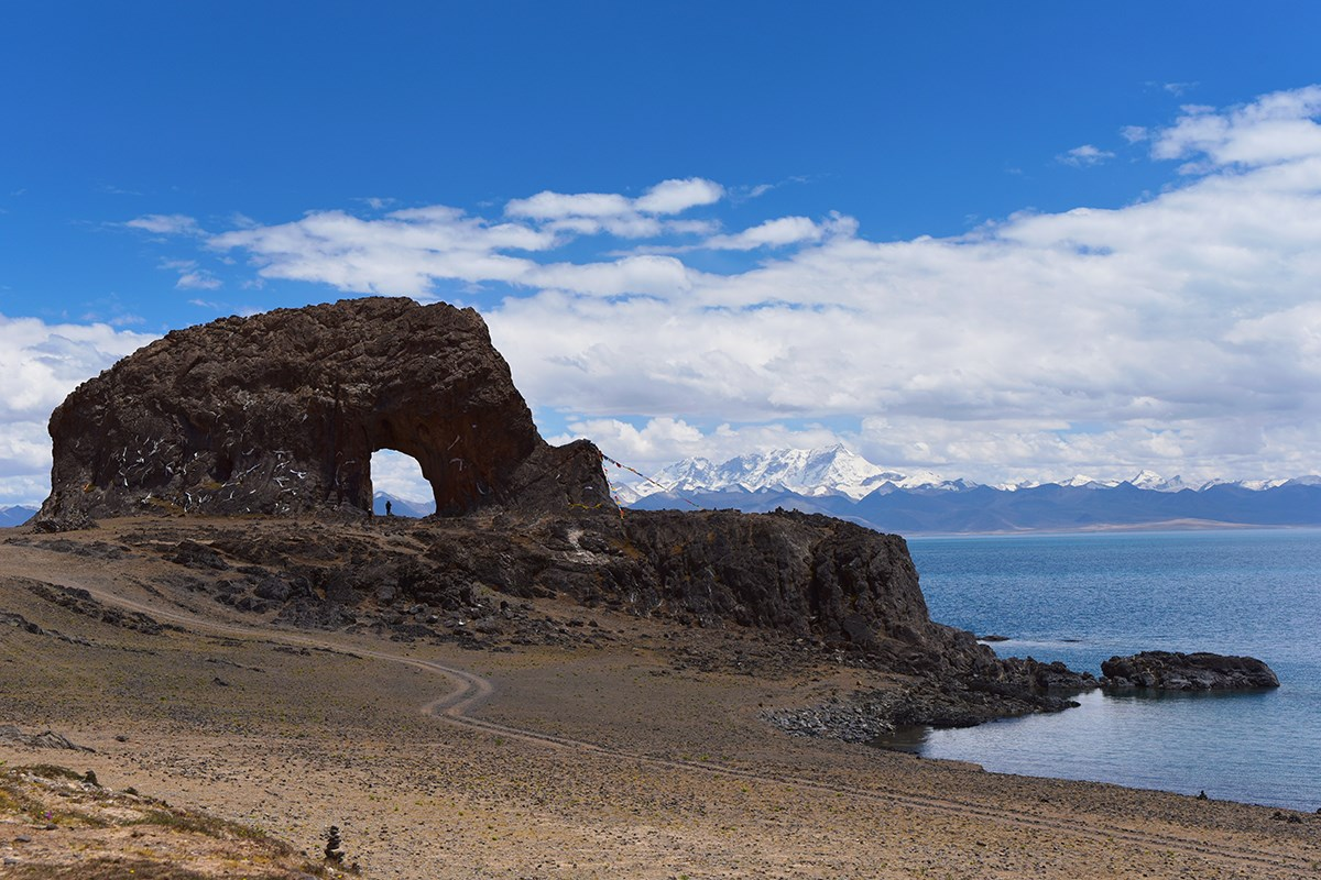 Holy Elephant Gate of Nam Tso