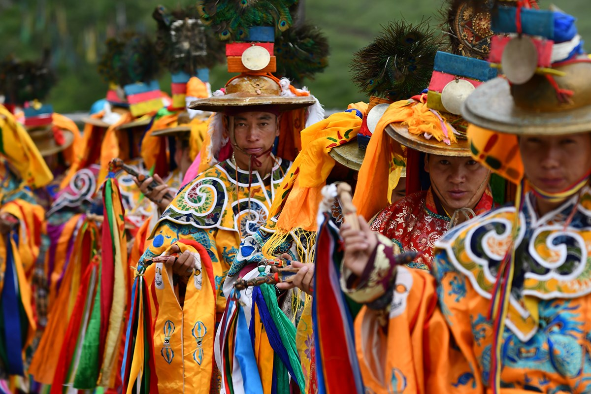 Mask Dance Festival at Katok Monastery | Photo by Liu Bin