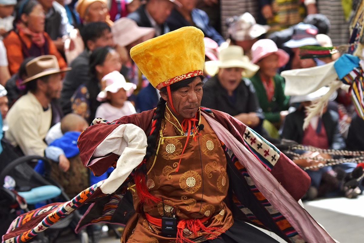 Tibet Opera | Photo by Liu Bin