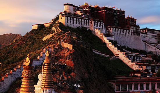 China Highlights with Tibet Train from Lhasa to Shanghai